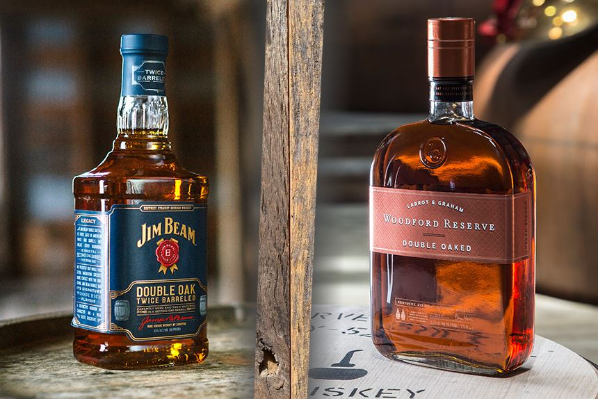 Double Oak(ed): Jim Beam vs Woodford