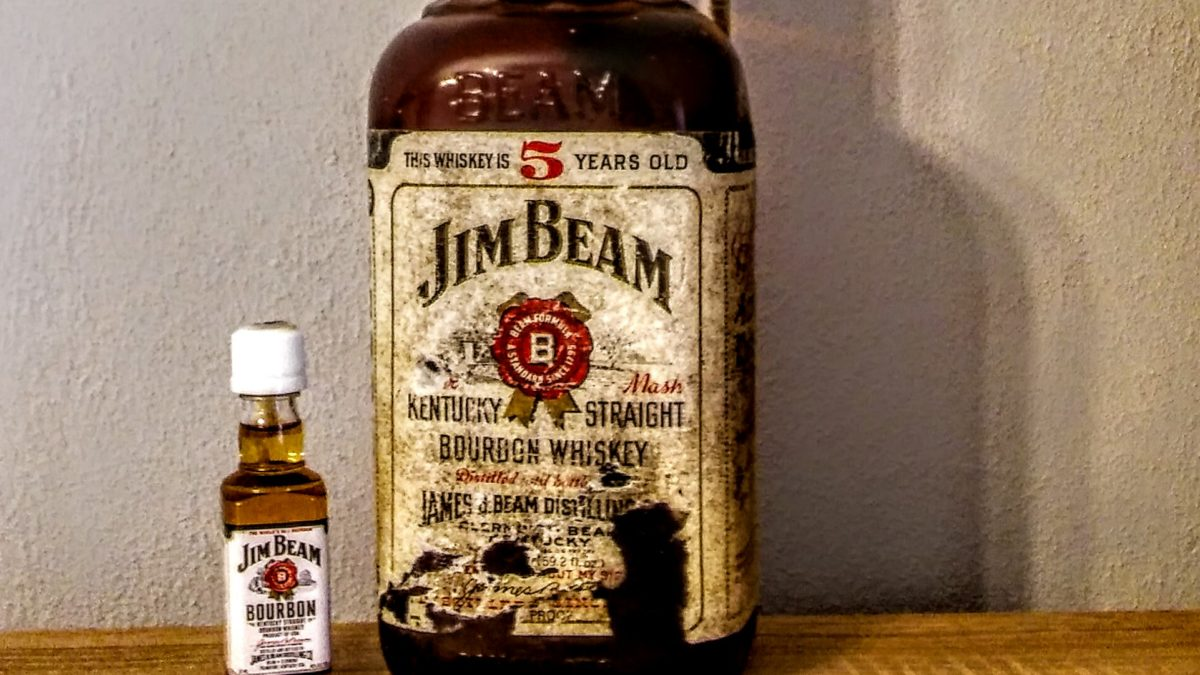 Old vs New: Jim Beam
