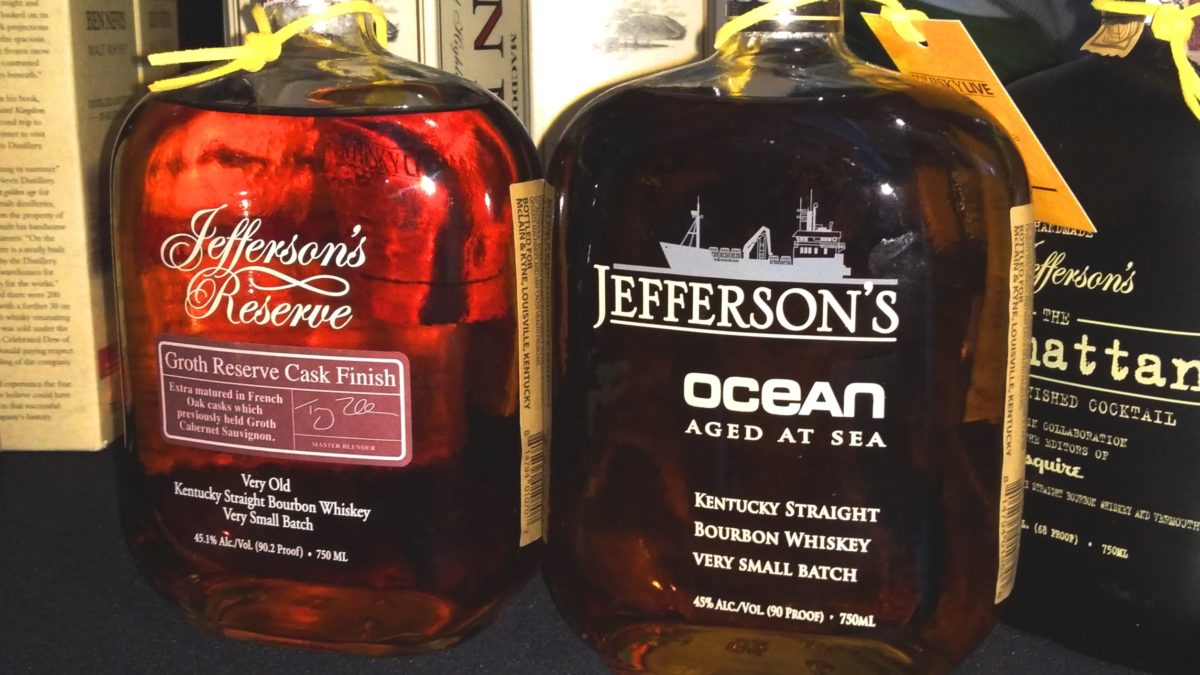 Jefferson's Ocean + Groth Cask Finish