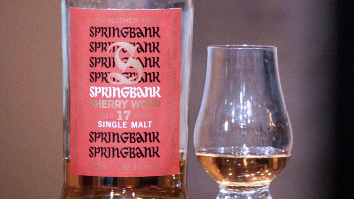 Springbank 17yo Sherry Wood
