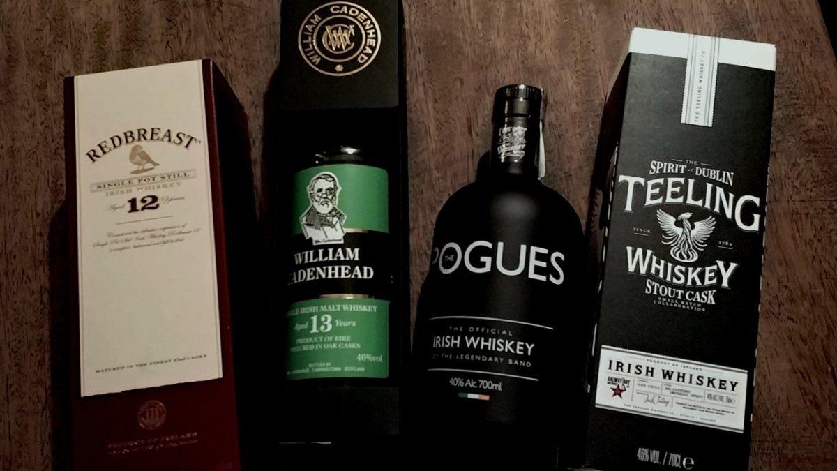 Irish whiskey tasting 9.02.2018