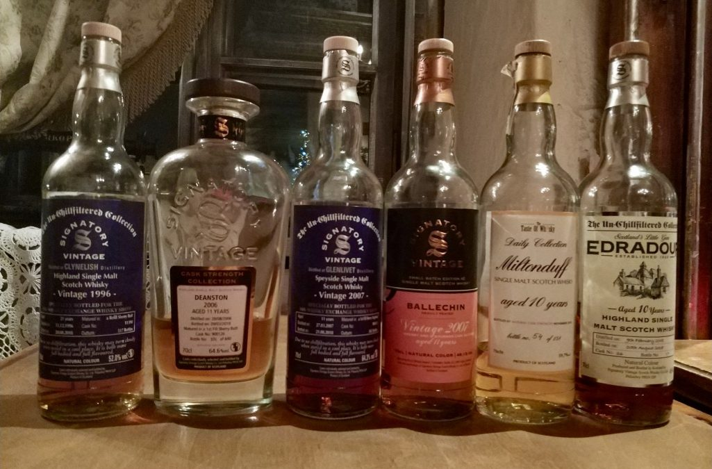 Warszawskie spotkania przy whisky – degustacja Signatory Vintage