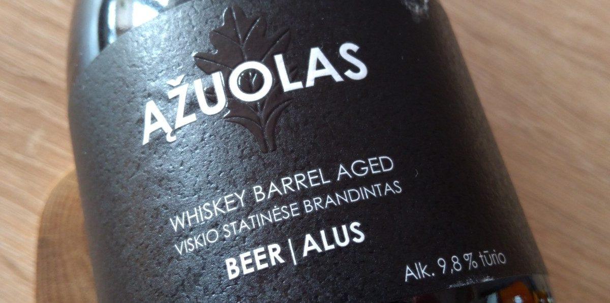 Vilniaus: Azuolas Whiskey Barrel Aged