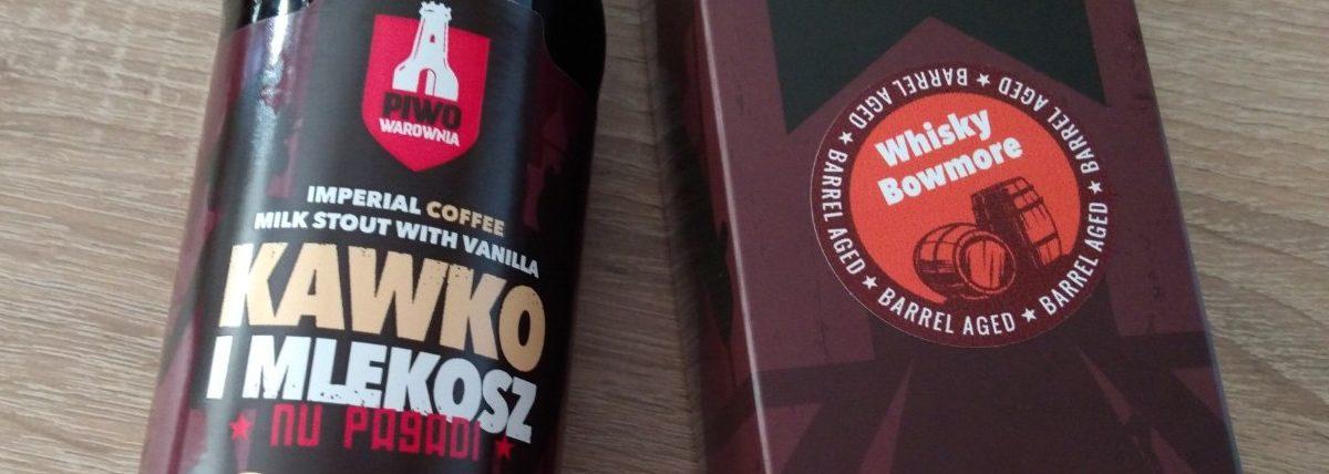 Piwo Warownia: Kawko iMlekosz Bowmore BA