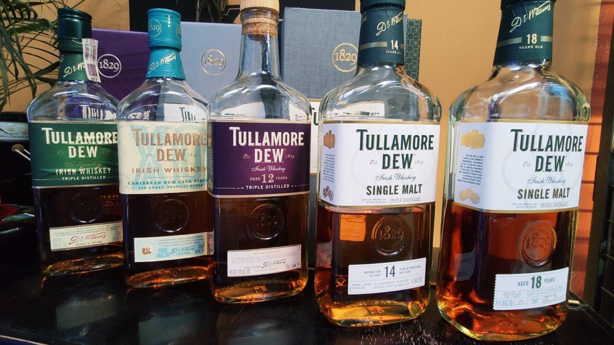 Degustacja Tullamore Dew wDomu Whisky