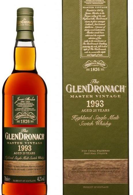 Glendronach Master Vintage 1993