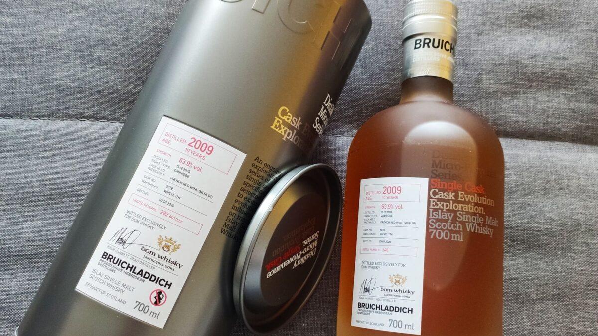 Bruichladdich 10yo dla Domu Whisky